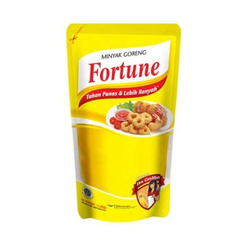Minyak Goreng Fortune 1 Liter 1 Dus jual fortune minyak goreng pouch 1000 ml harga kualitas terjamin blibli