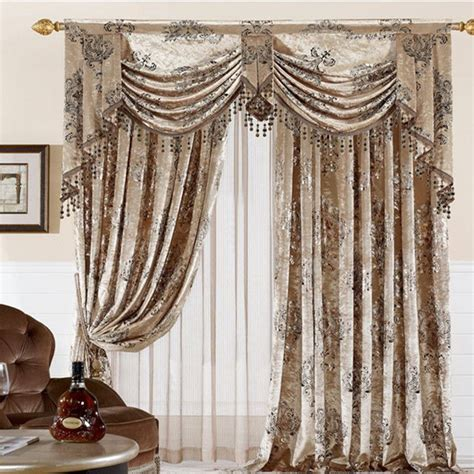 bedroom curtain patterns home textile curtain design velvet cloth gilt finished