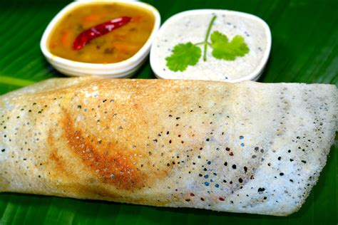 How To Make Paper Dosa - an easy to make dosa recipe