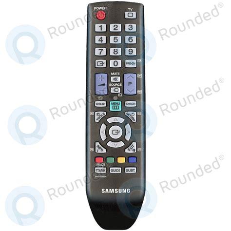 reset samsung bn59 remote samsung remote control tm940 bn59 00865a