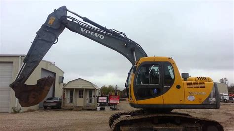 volvo  excavator  sale heavy equipment auction youtube