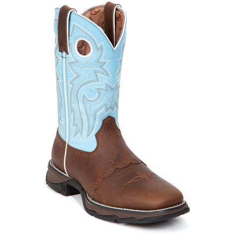 womans boots s 10 quot durango 174 saddle lace western boots 219837