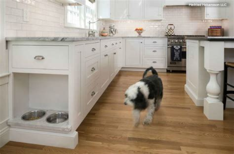 dog feeding station cabinet 14 innovative diy home makeovers to satisfy your inner dog
