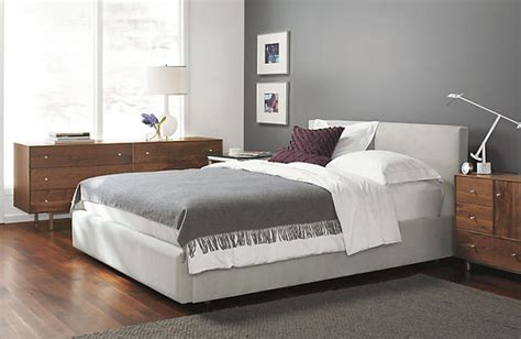 Low Headboard by Wyatt Low Headboard Storage Bed By R B