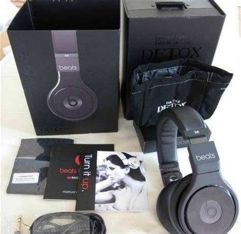 Dre Beats Detox Headphones by New Beats By Dre Detox Limited Edition Headphones For