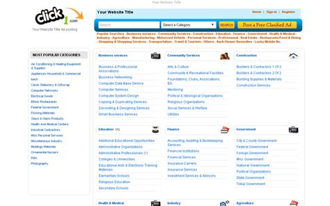 php classified ad scripts free commercial and open opensource classified ads script php classified ad script