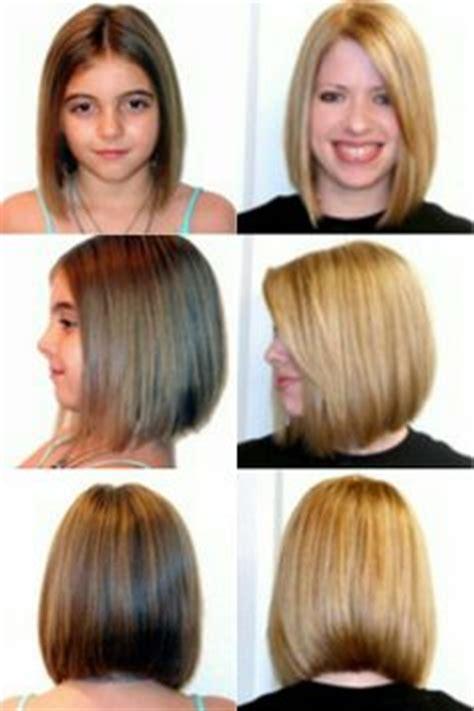 medium short beveled stack bob blunt shoulder length bob back view haircut ideas