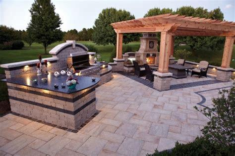 feuerstelle pflastersteine terrassengestaltung die 30 besten ideen im 220 berblick
