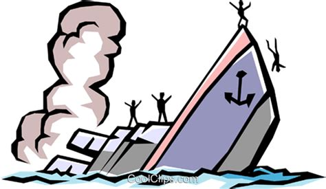 boat sinking clipart sinking ship vektor clipart bild tran0463 coolclips