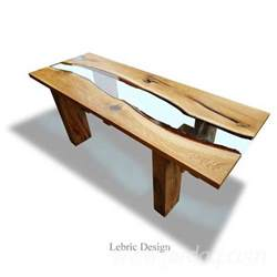 resin partners home design products wood table and epoxy resin