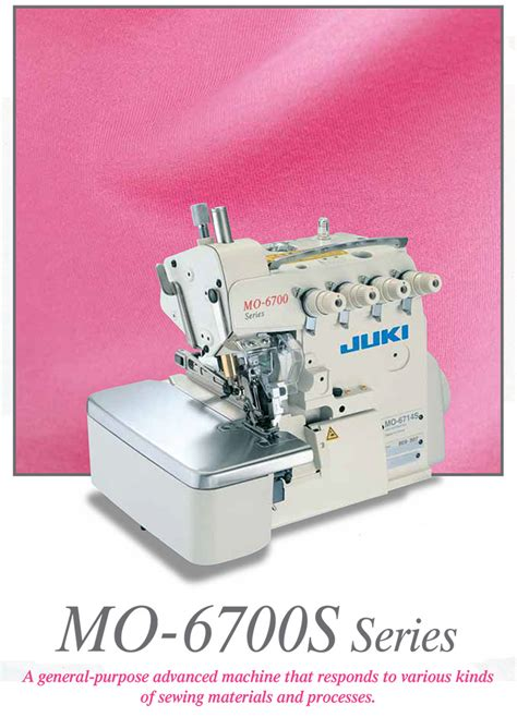Mesin Obras Elna aneka mesin jahit juki mo 6700s series