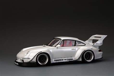 porsche widebody rwb 1 24 rwb porsche 993 widebody kit for ver quot army