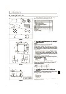 Mitsubishi Electric Mr Slim Remote Manual Mitsubishi Mr Slim Pla Rp Ba Im Rg79d251k01 Ceiling