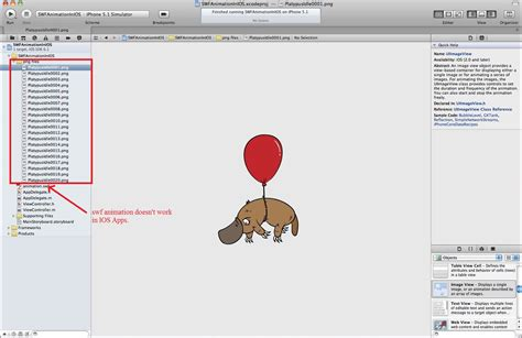 sle xcode iphone projects create animation in ios apps with png sequence files