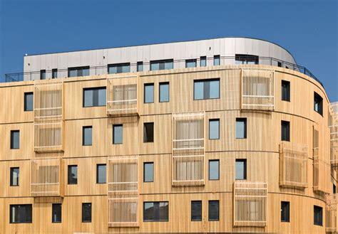 siege nexity sensuelle et 233 colo l architecture en bois se r 233 invente