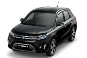 Web Suzuki Suzuki Vitara Web Black Edition Announced Italy