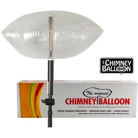 Fireplace Baloon by Chimney Balloon 3 Sizes Small Medium Large