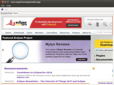 css tutorial vogella extending the eclipse 4 application model tutorial