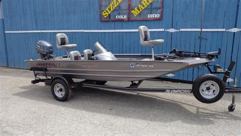 used aluminum fishing boats for sale in ohio alumacraft new and used boats for sale in oh