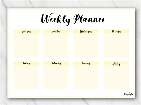 Galerry printable business plan template