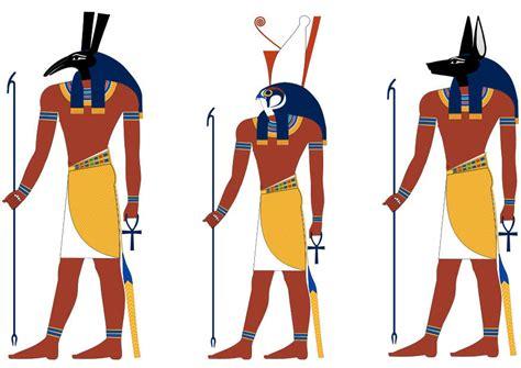 imagenes de figuras egipcias image horus et anubis dessin 9851