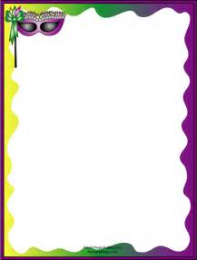 Free Printable Mardi Gras Mask Templates by Free Mardi Gras Borders Cliparts Co