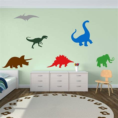 dinosaurs wall stickers dinosaurs wall stickers by mirrorin