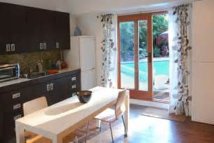 Curtains For Sliding Doors In Kitchen How To Use Curtains With Sliding Glass Doors