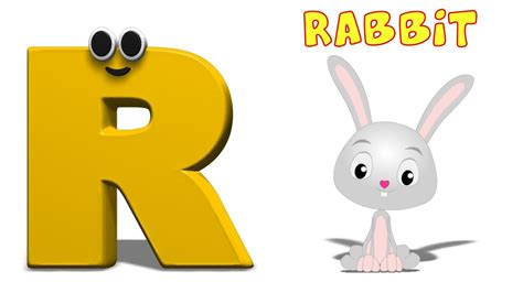 Phonics Letter- R song | Learning Numbers For Toddlers ... R