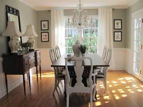 Dining Room Paint Ideas by Colorful Painted Dining Table