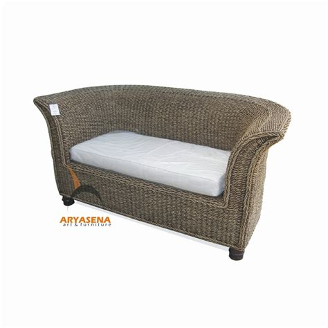 seagrass sofa kt 14 saweda sofa 2 seater seagrass
