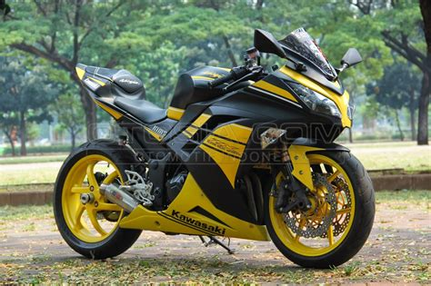 modifikasi motor 250 warna hijau modifoke info