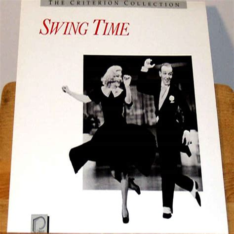 swing time musical swing time laserdisc rare laserdiscs criterion laserdiscs