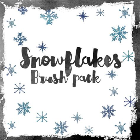 snowflake pattern brush photoshop snowflakes photoshop brushes pack photoshop brushes free