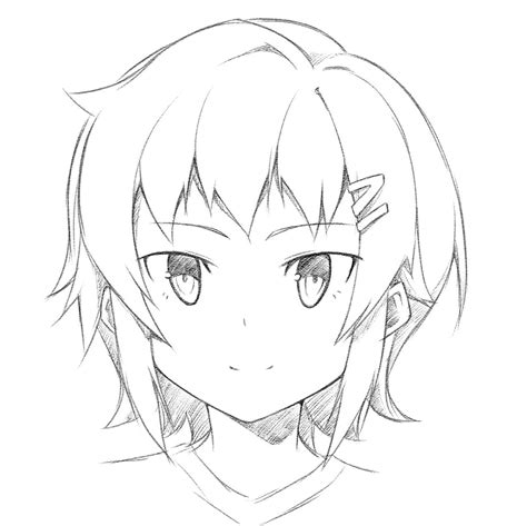 girl head coloring page anime girl head coloring pages