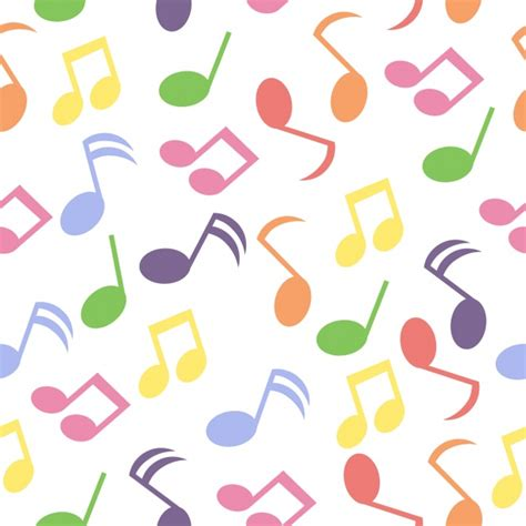 notes pattern background music notes pattern background vector free download