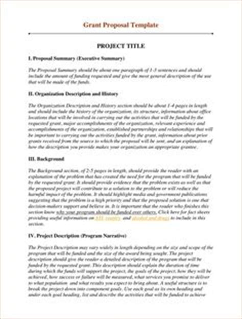 Sle Business Proposal Proposal Sle Here S A Typical Project Proposal 1705 Grant Template For Non Profit