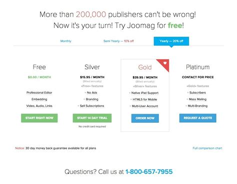 pricing table design pattern pricing table design pattern exle at joomag 179 of 195
