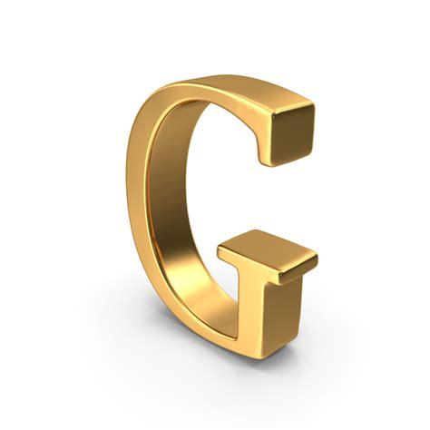 Letter G Images gold png images psds for pixelsquid