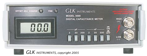 capacitance meter with analog output model 3000 capacitance meter with analog output and usb port
