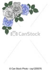 Cornice Corners Archivio Illustrazioni Di Blu Rose Bianco Angolo 3d