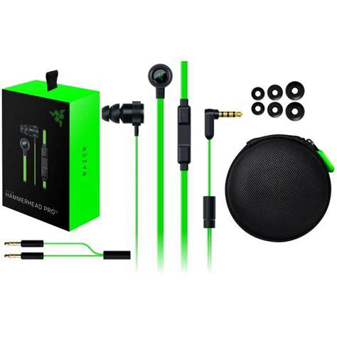Razer Hammerhead Pro Gaming Headset razer hammerhead pro v2 gaming in ear headset hypermart