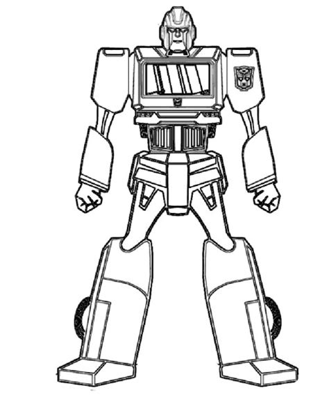 printable robot coloring pages coloring me