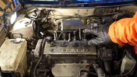 how cars engines work 1996 toyota avalon spare parts catalogs pcv valve location toyota corolla years 1992 to 2000 youtube