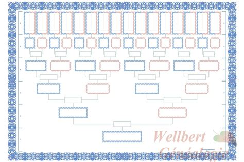 a printable family tree chart family tree chart 6 generations printable empty to fill in