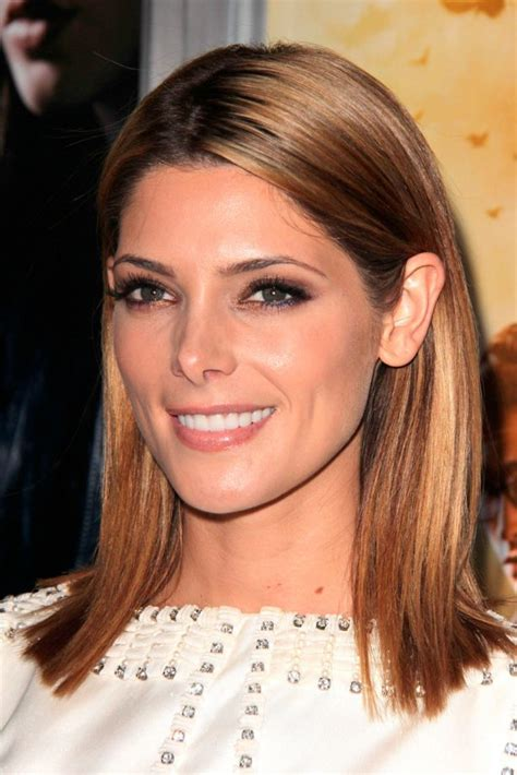 ashley greene medium length hairstyles 2014 straight hair medium hairstyles