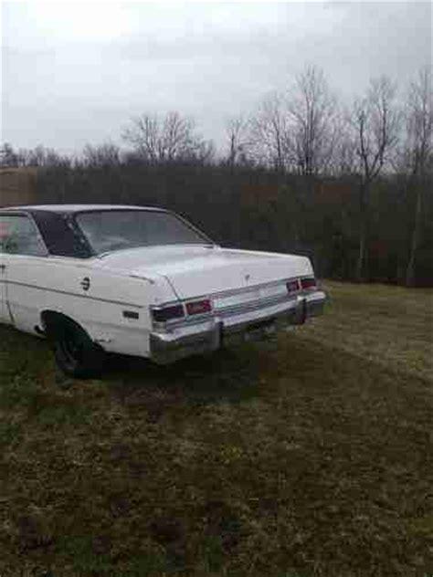 buy used 1976 dodge dart sport coupe 2 door 3 7l in