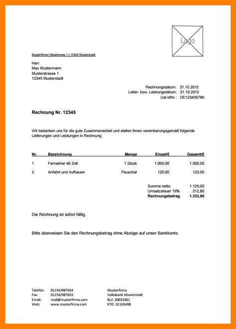 Kfz Versicherung Berechnen S Dtirol by 11 Privat Rechnung Schreiben The Natural Curriculum