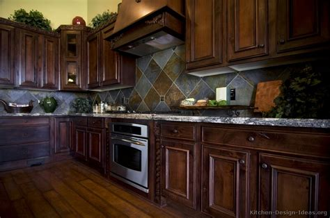 kitchen cabinets dark wood pictures of kitchens traditional dark wood kitchens