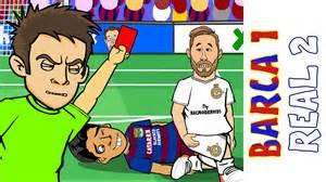 barcelona vs real madrid 1 2 el clasico 2016 ronaldo